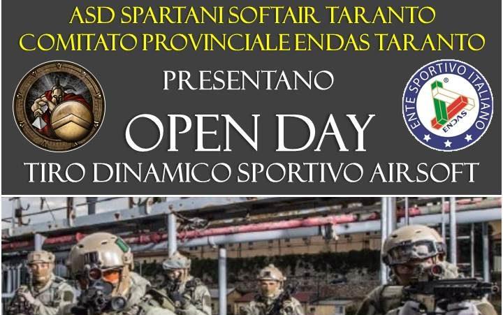 Open Day Soft Air Endas Taranto