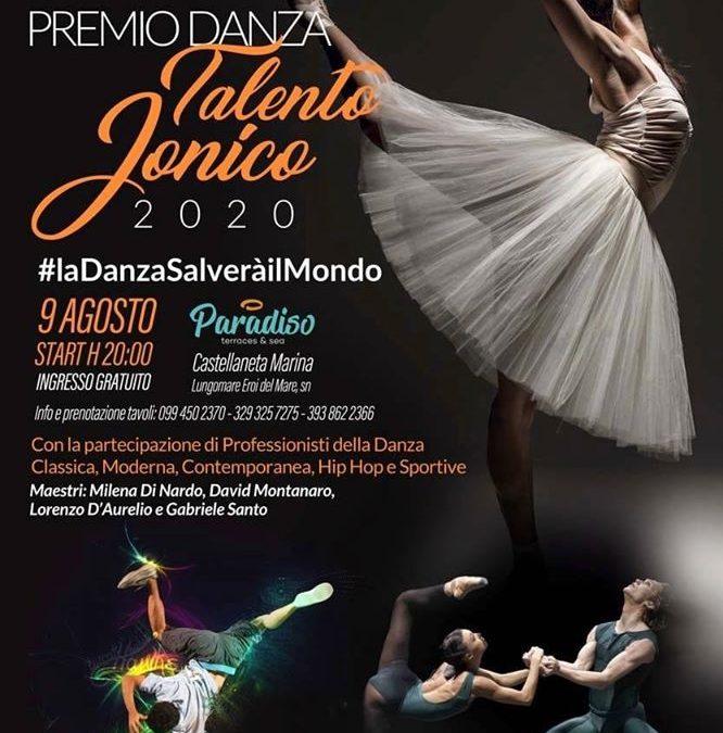 Premio Danza talento jonico 2020 3^ Edizione